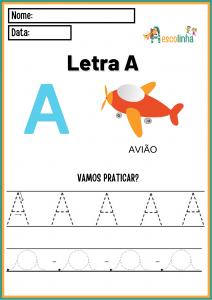 1- A escolinha Português (Alfabeto - A-Z)