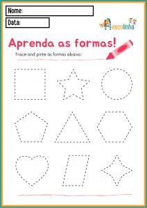 11 - A escolinha Matemática (FORMAS GEOMÉTRICAS)