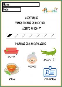 4 - A escolinha Português (ACENTUAÇÃO)
