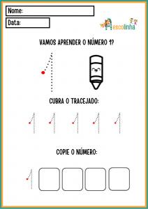 7 - A escolinha Matemática (Números 1-10)